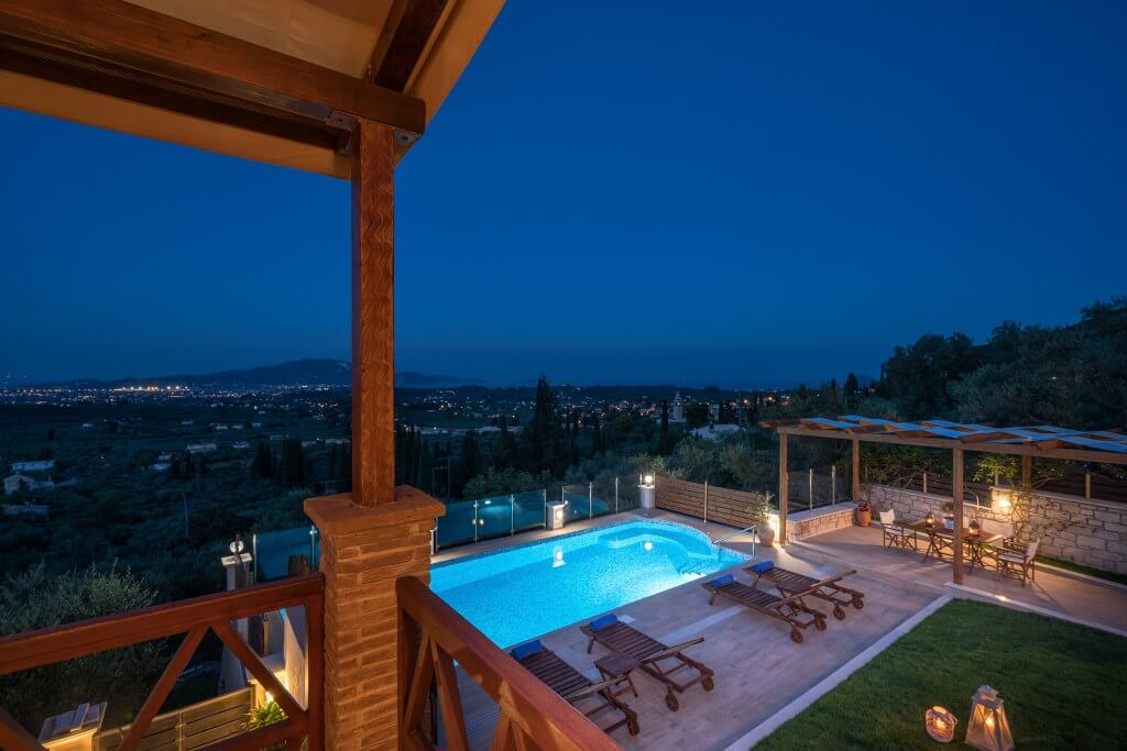 Zante Villas - Zakynthos Villas - Private Pool Villa Clairy
